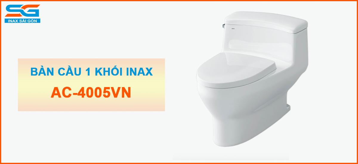 Bàn cầu Inax 1 khối AC-4005VN