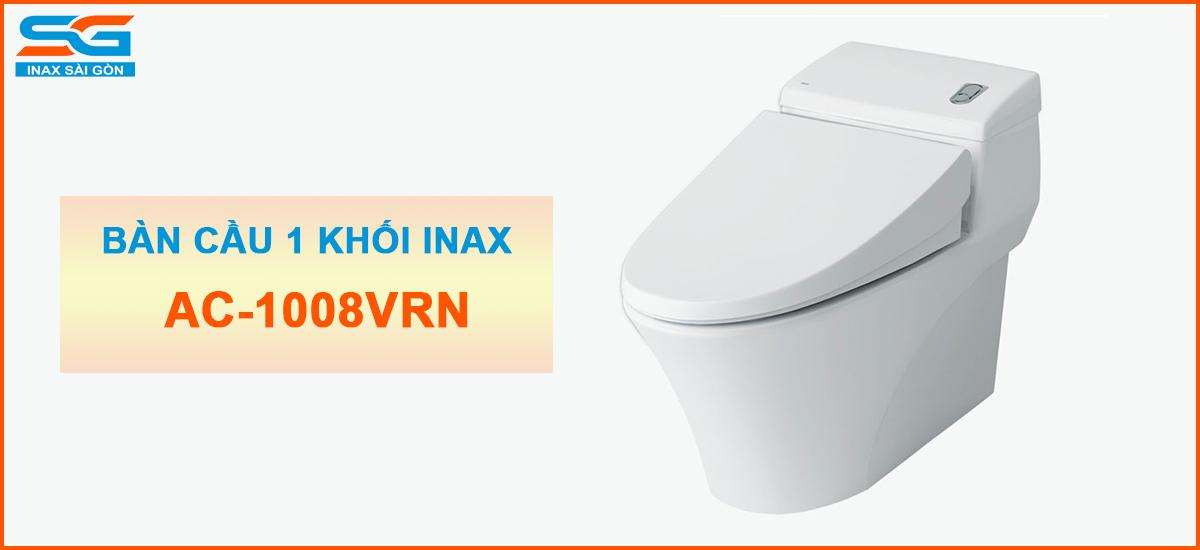 Bàn cầu Inax 1 khối AC-1008VRN