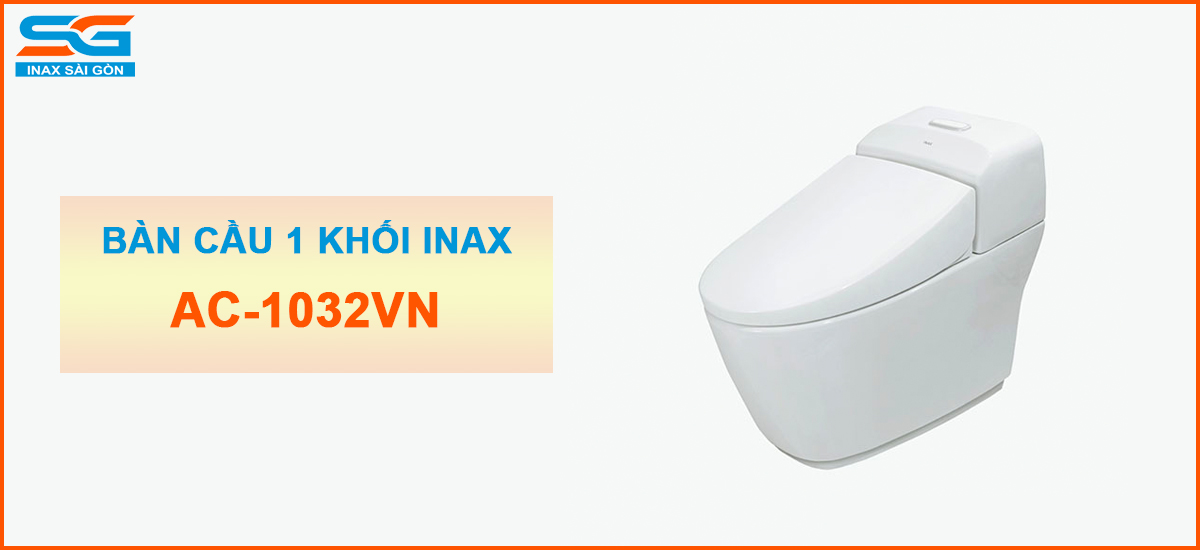 Bàn cầu Inax 1 khối AC-1032VN