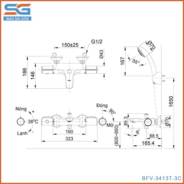bản ve bfv-3413t-3c