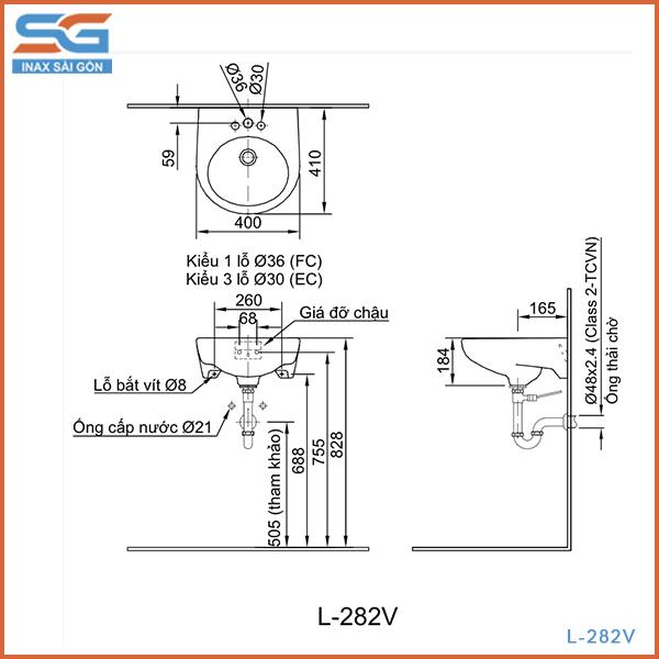 BẢN VẼ L-282V